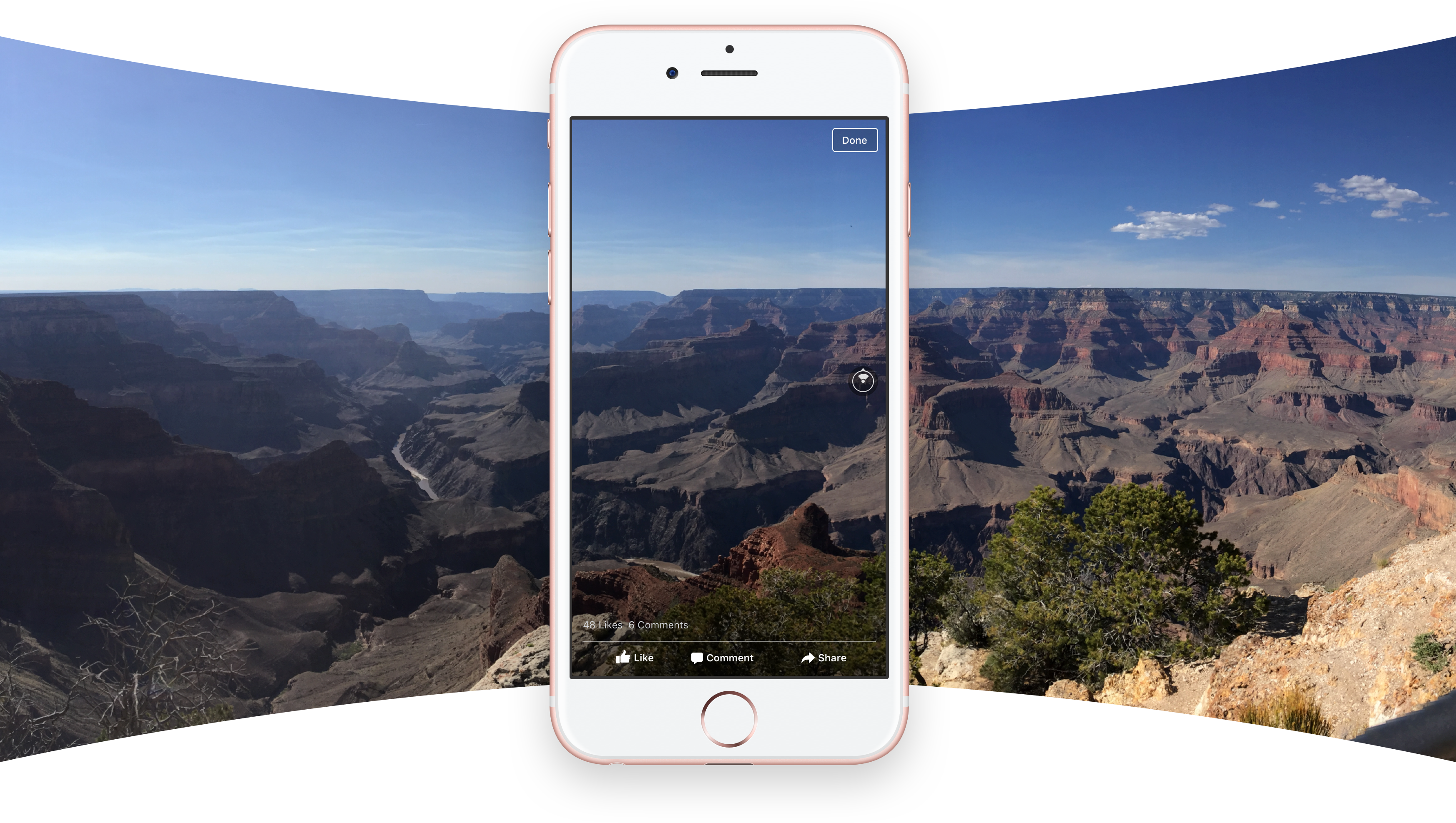 Foro 360 Facebook - Grand Canyon - Full Screen Panorama