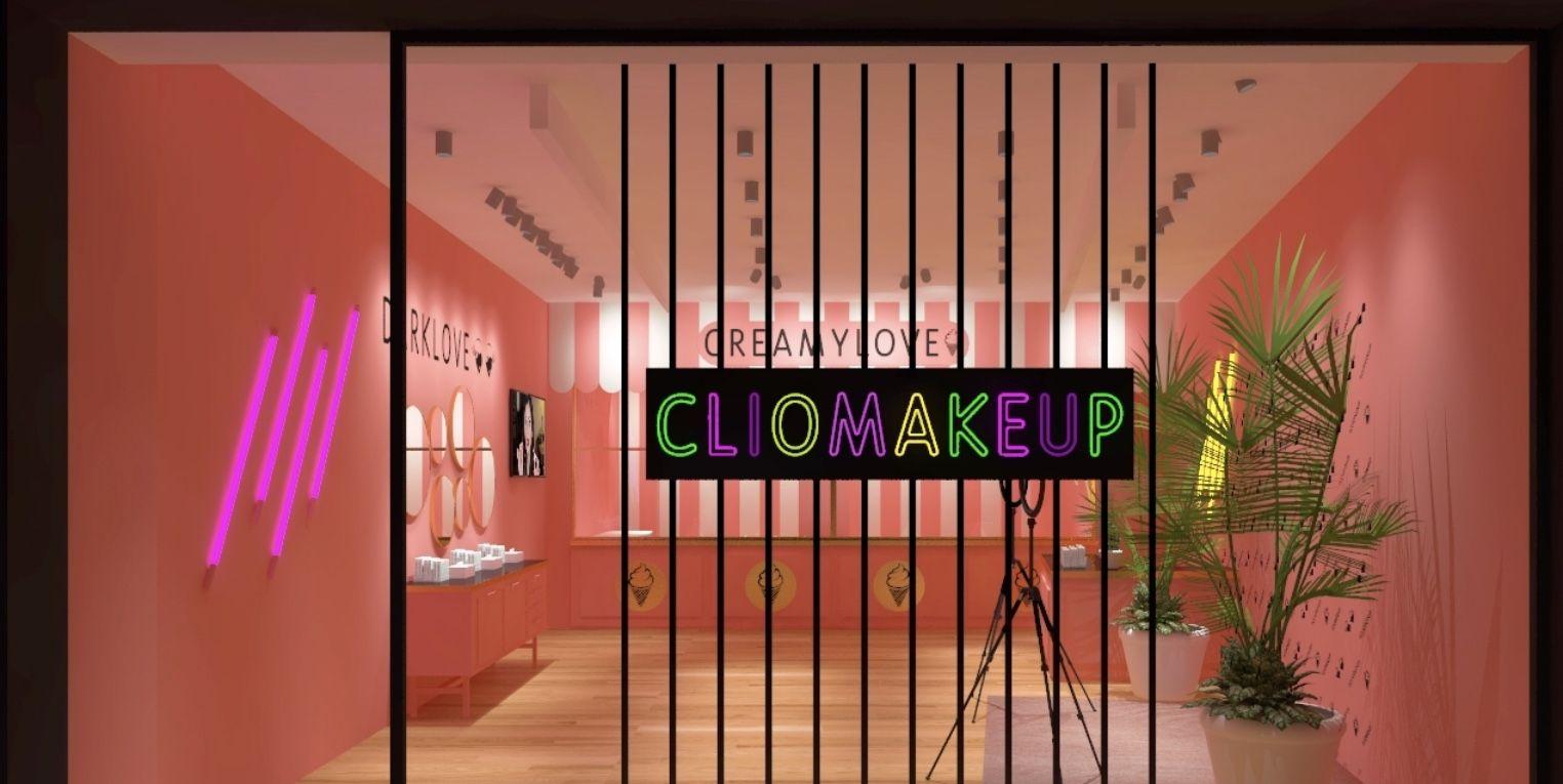 pop up store clio make up