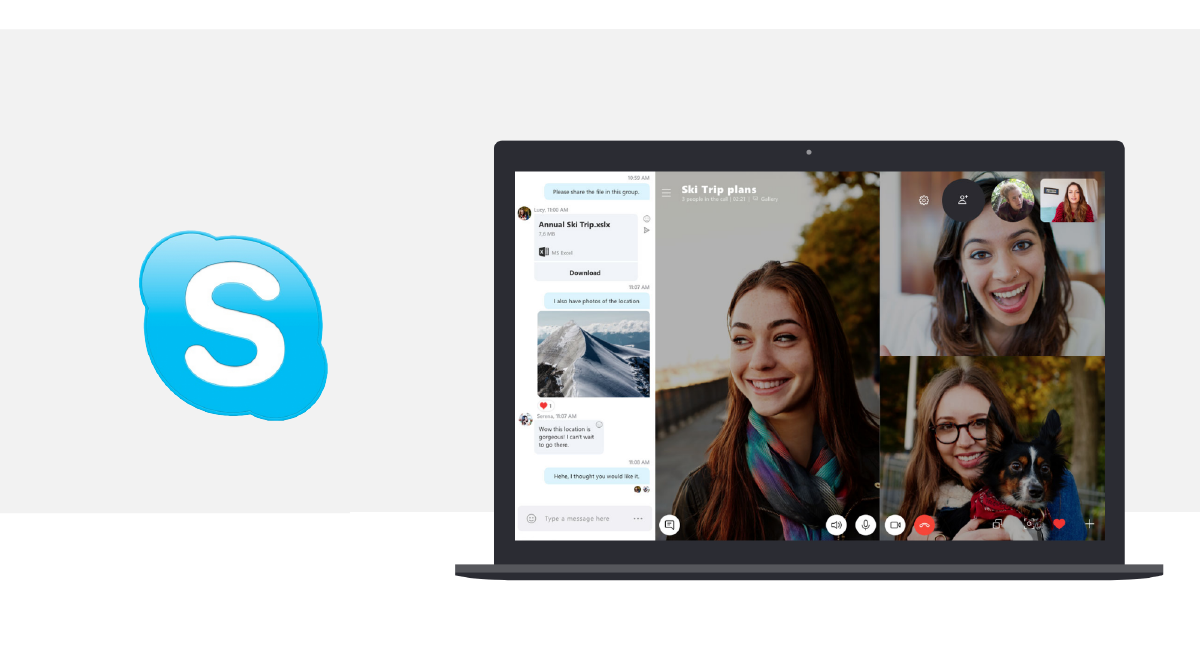 smart working - covid19 - skype