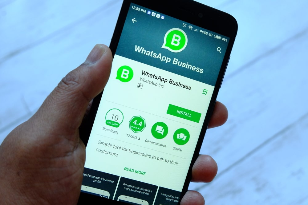 whatsapp business - wehub