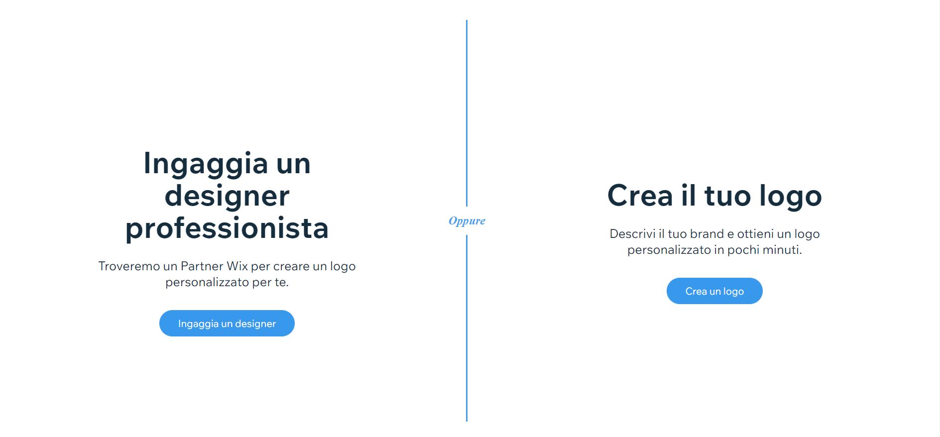 Creare un logo online gratis con Wix