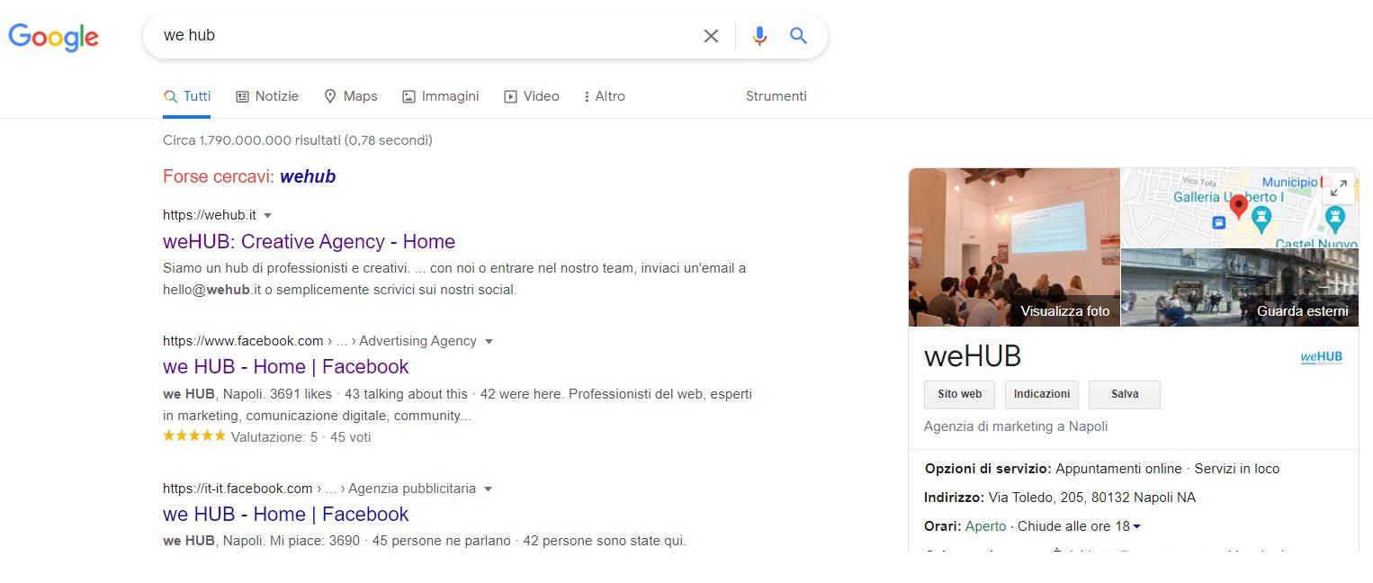 weHUB - GoogleMyBusiness